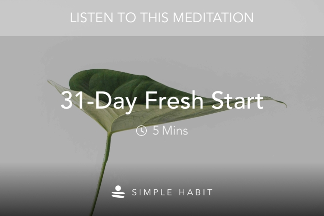31-day Fresh Start